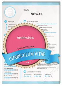 CV archiwista